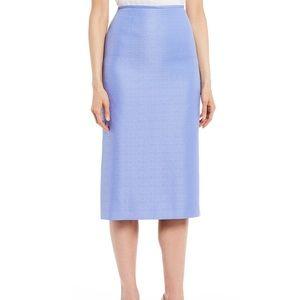 Pendelton Seasonless pleated back pencil skirt